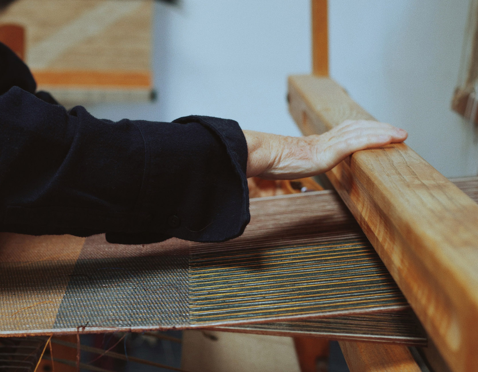 ABOUT WEAVING by KARIN CARLANDER